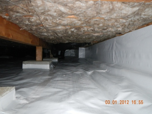 Where is the water in my crawl space coming from?